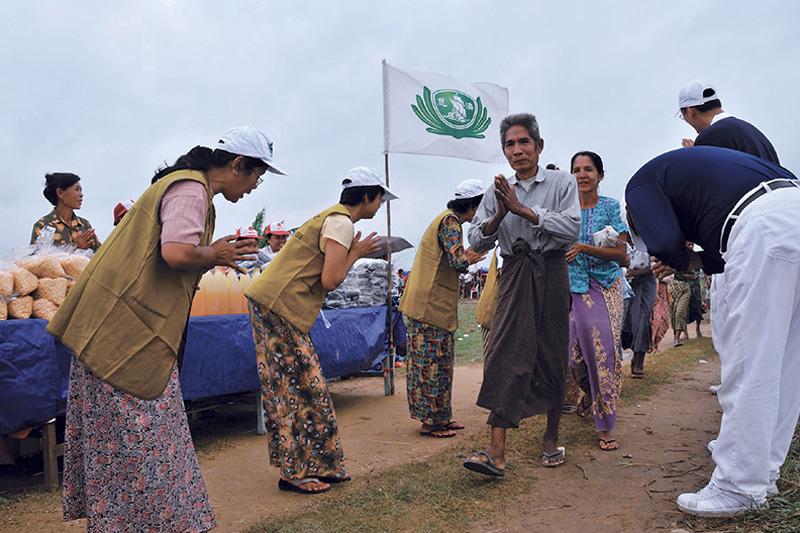 慈济国际赈灾