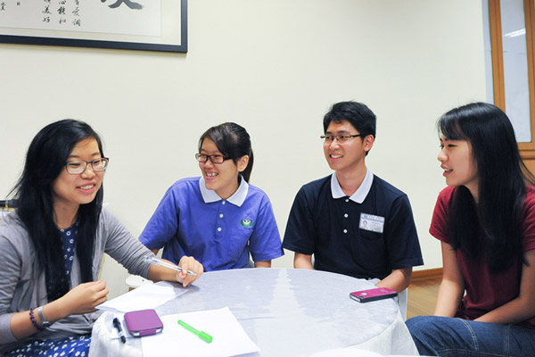 Tzu Chi Collegiate Youths' Sharing Session