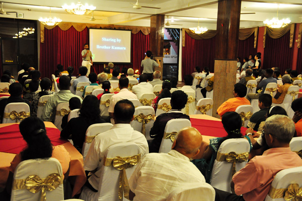 Great Love Inspires Compassion in Colombo Tea Session