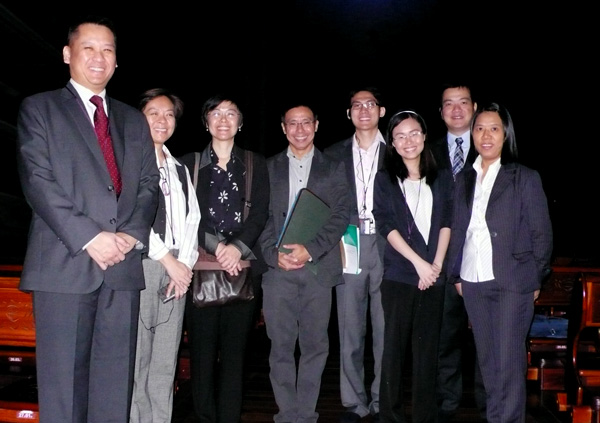 Singapore health officials visited Tzu Chi's Medical Mission in Taiwan