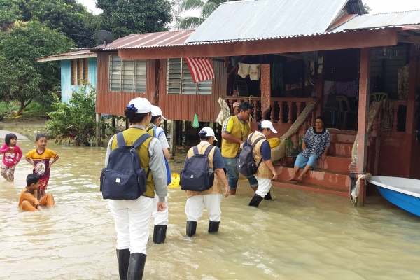 Resilience and Hope Amidst a Flood Disaster