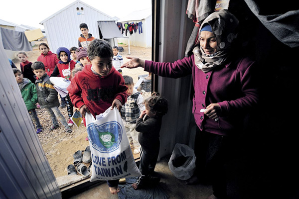 Syrian Refugees Spend their New Year in Jordan