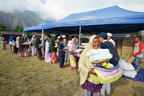 Second Wave of Relief Distribution for Earthquake Victims in Lombok