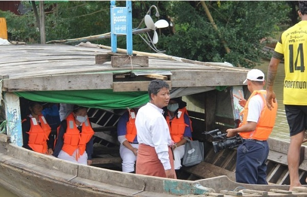 Tzu Chi Collaborates with Local Authorities to Provide Flood Relief in Myanmar