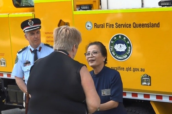A New Fire Truck for Fighting the Australian Bushfires