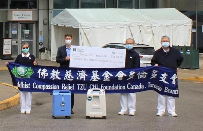Tzu Chi Toronto provides support to hospital and medical workers during coronavirus pandemic