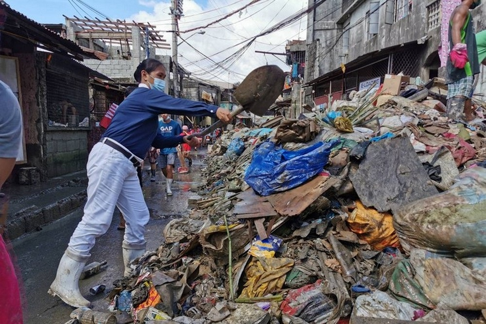 Tzu Chi Philippines Rushed in Relief after Typhoon Vamco