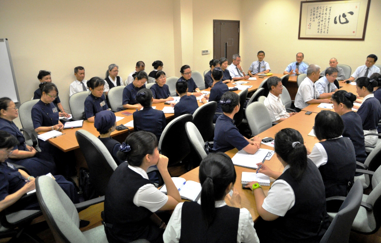 Tzu Chi Singapore Begins Japan Relief Fundraising