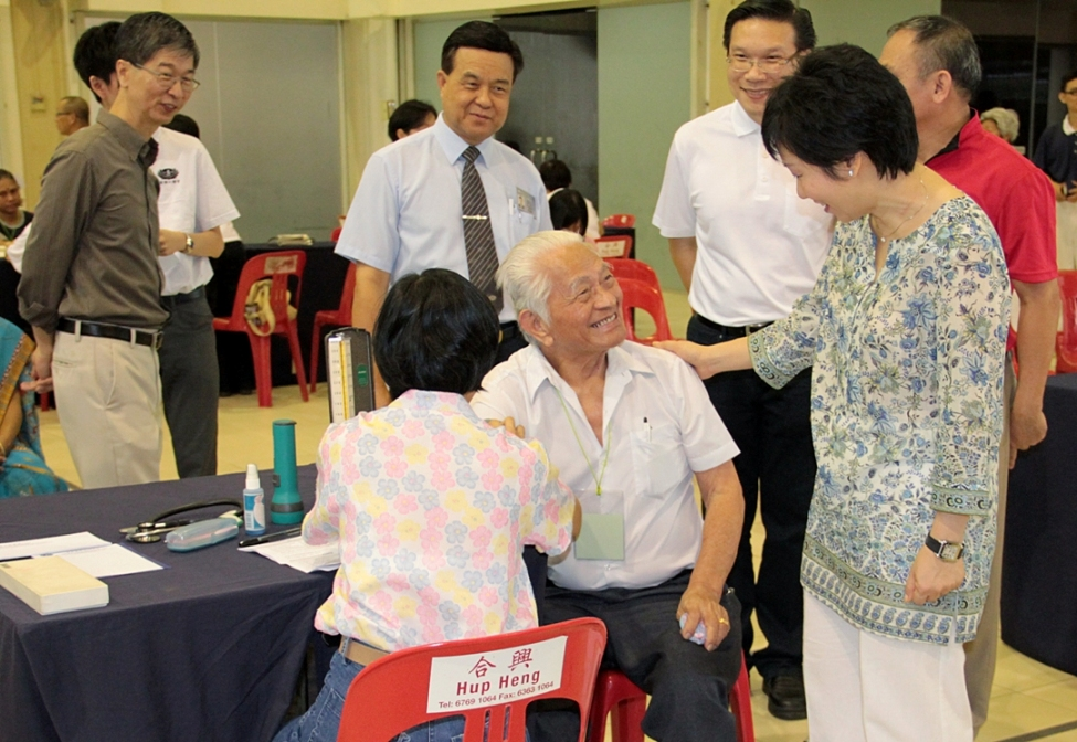Large Scale Health Screening in Yuhua