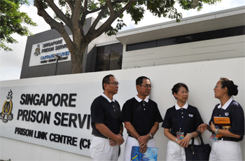 Tzu Chi Singapore's Prison Service Acknowledged by SPS