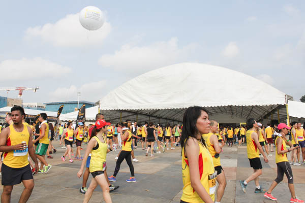 Towards Cleaner Roads - The Yellow Ribbon Run