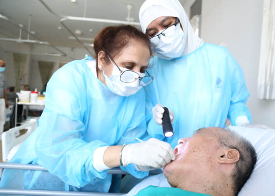 Tzu Chi Signs MOU with Ren Ci to Provide Free Dental Services