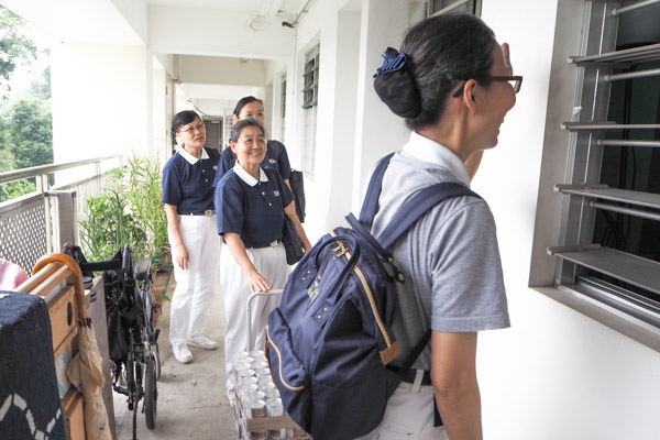 Tzu Chi Kicks Off Island-wide Charity Day