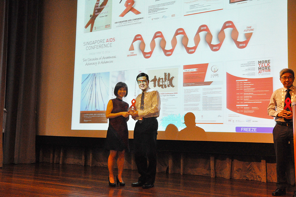Tzu Chi Receives Red Ribbon Award for AIDS Patient Care