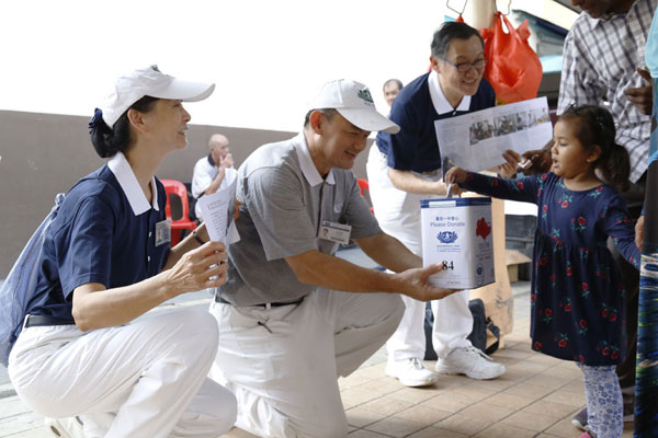 Garnering Kind Hearts on Tzu Chi Flag Day