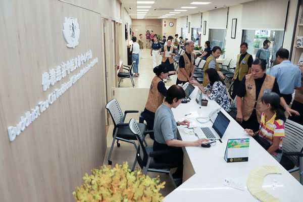 New Tzu Chi TCM Free Clinic Opens in Khatib to Safeguard the Heath of Residents