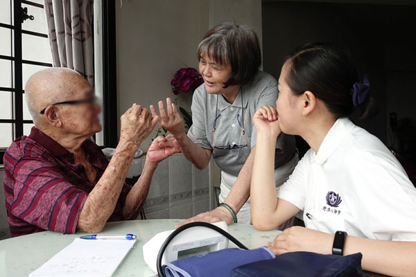 A caregiver who pays her love forward by becoming a volunteer